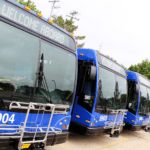 Delays, disruptions, and shifts in public transit