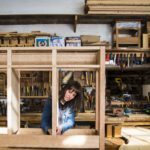 More women are carving out a space in woodworking
